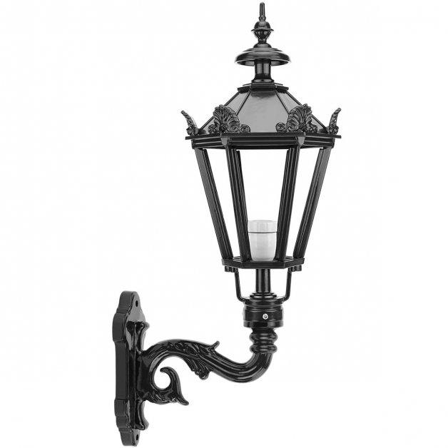 Buitenverlichting Klassiek Landelijk Wandlamp Delft met kronen L - 75 cm