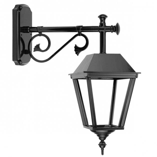 Außenleuchten Klassisch Ländlich Wandlampe hängen langer arm Bisselt - 56 cm