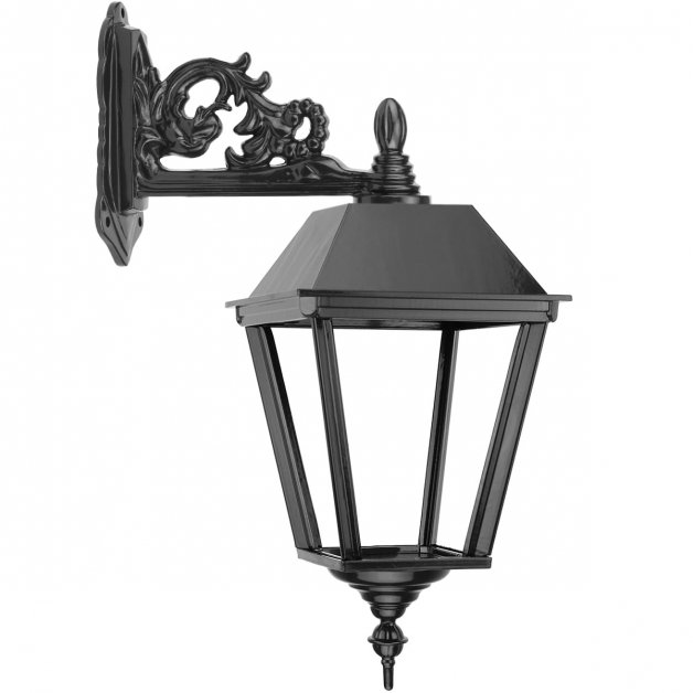 Außenbeleuchtung Klassisch Ländlich Wandlaterne draußen Aekinga - 62 cm