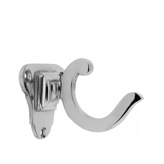 Hardware Coat Hooks Washcloth hook nickel plated Castrop - 46 mm