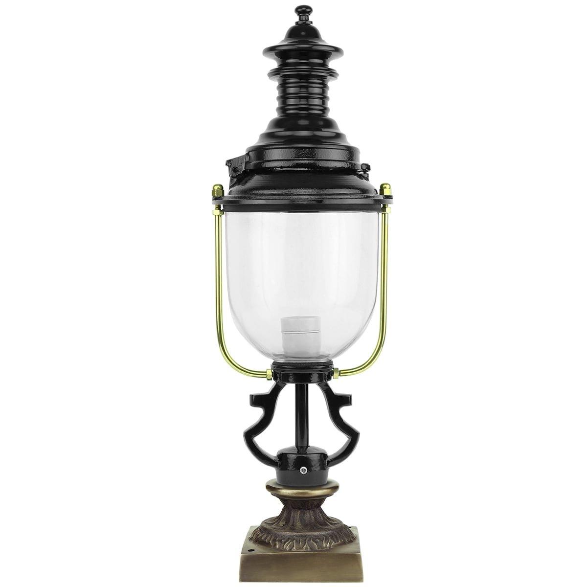 Buitenverlichting Klassiek Landelijk Buitenlamp sokkel Saasveld - 65 cm
