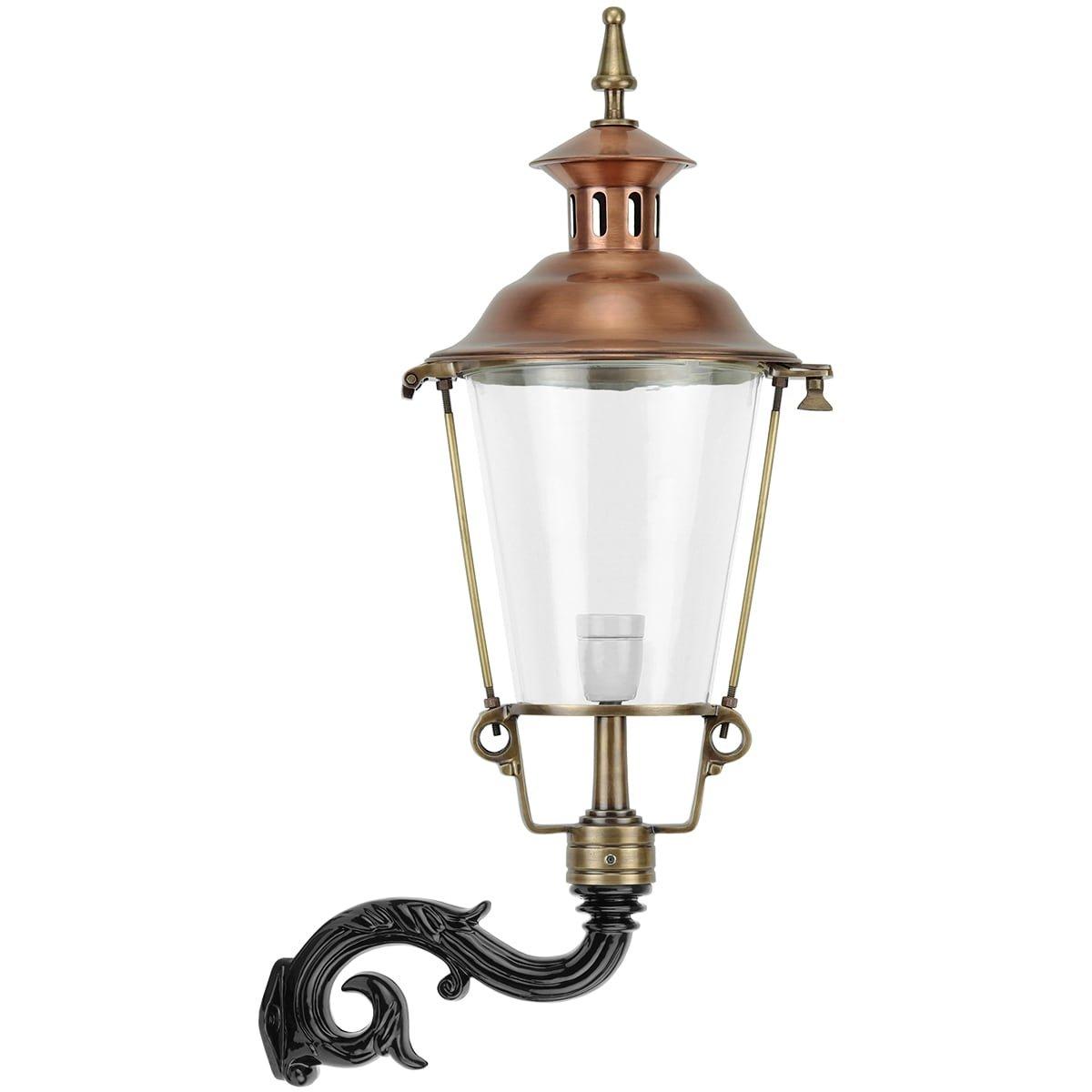 Außenbeleuchtung Klassisch Ländlich Außenleuchte wand Ermelo Bronze - 87 cm