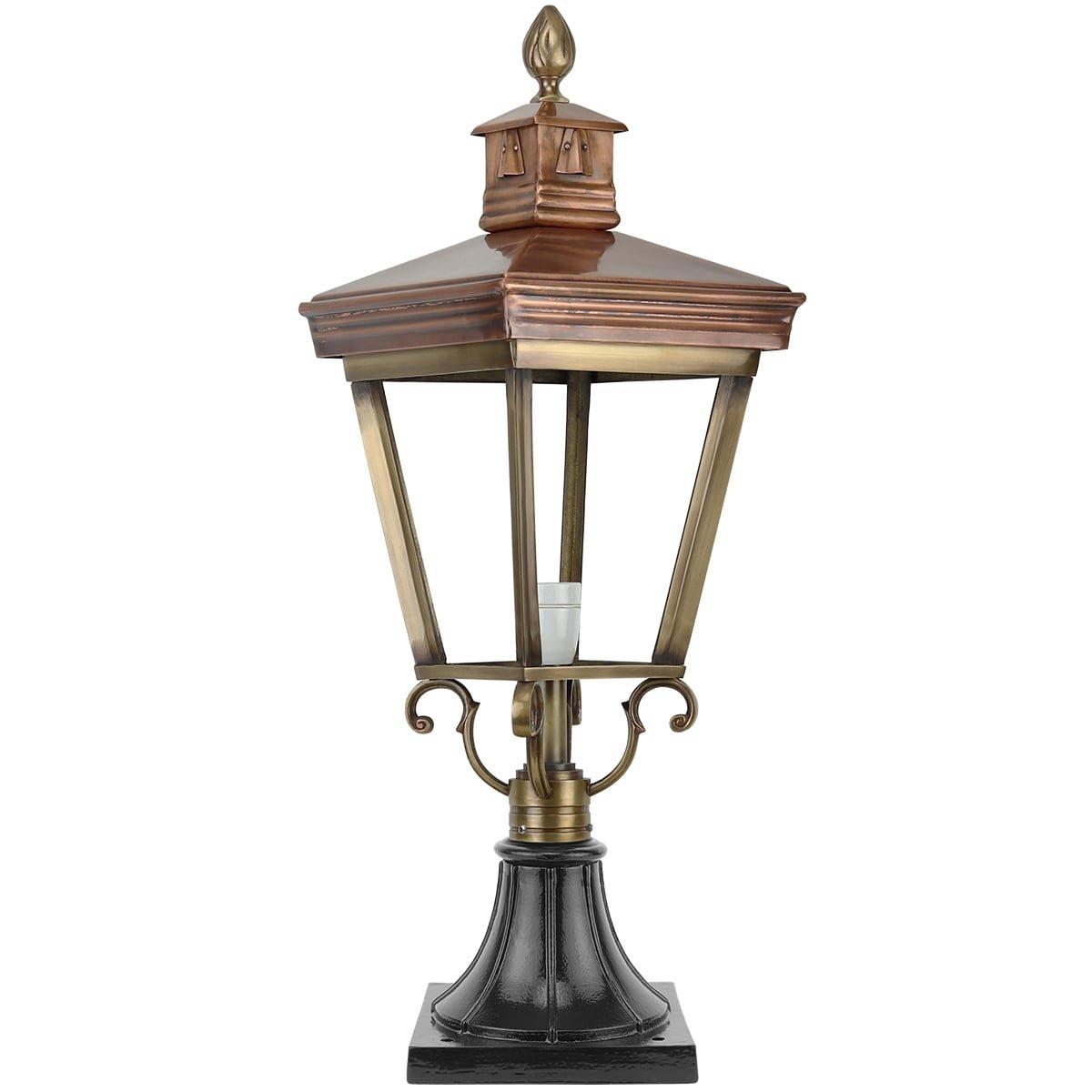 Outdoor Lighting Classic Nostalgic Yard lamp Exloërveen bronze - 75 cm