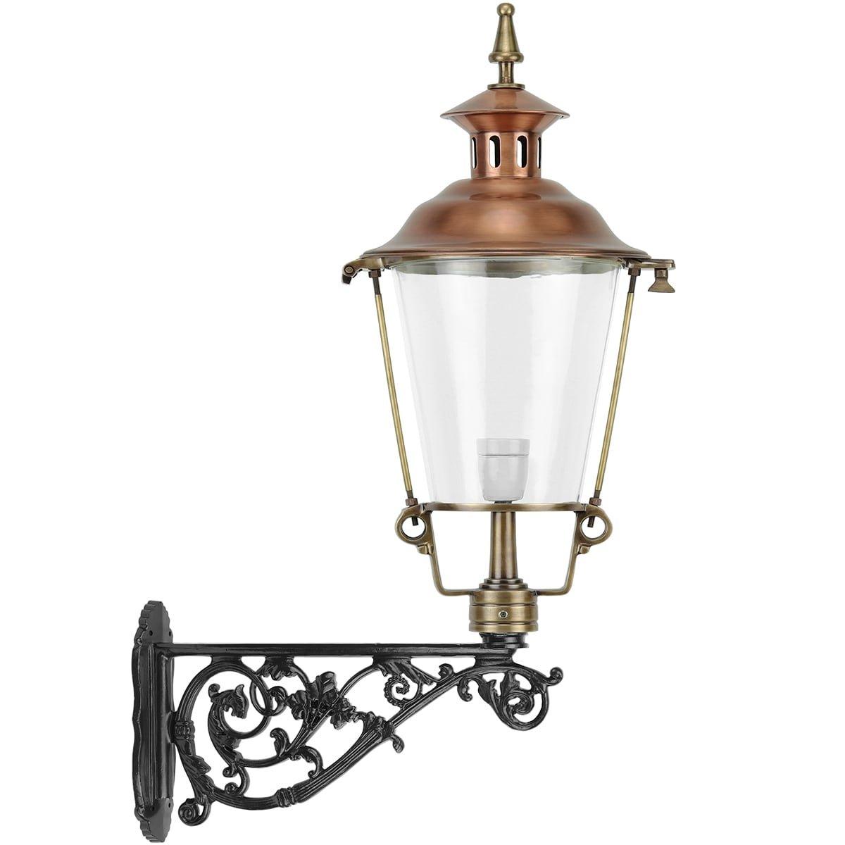 Outdoor Lighting Classic Rural Crow lantern wall Ezumazijl bronze - 149 cm
