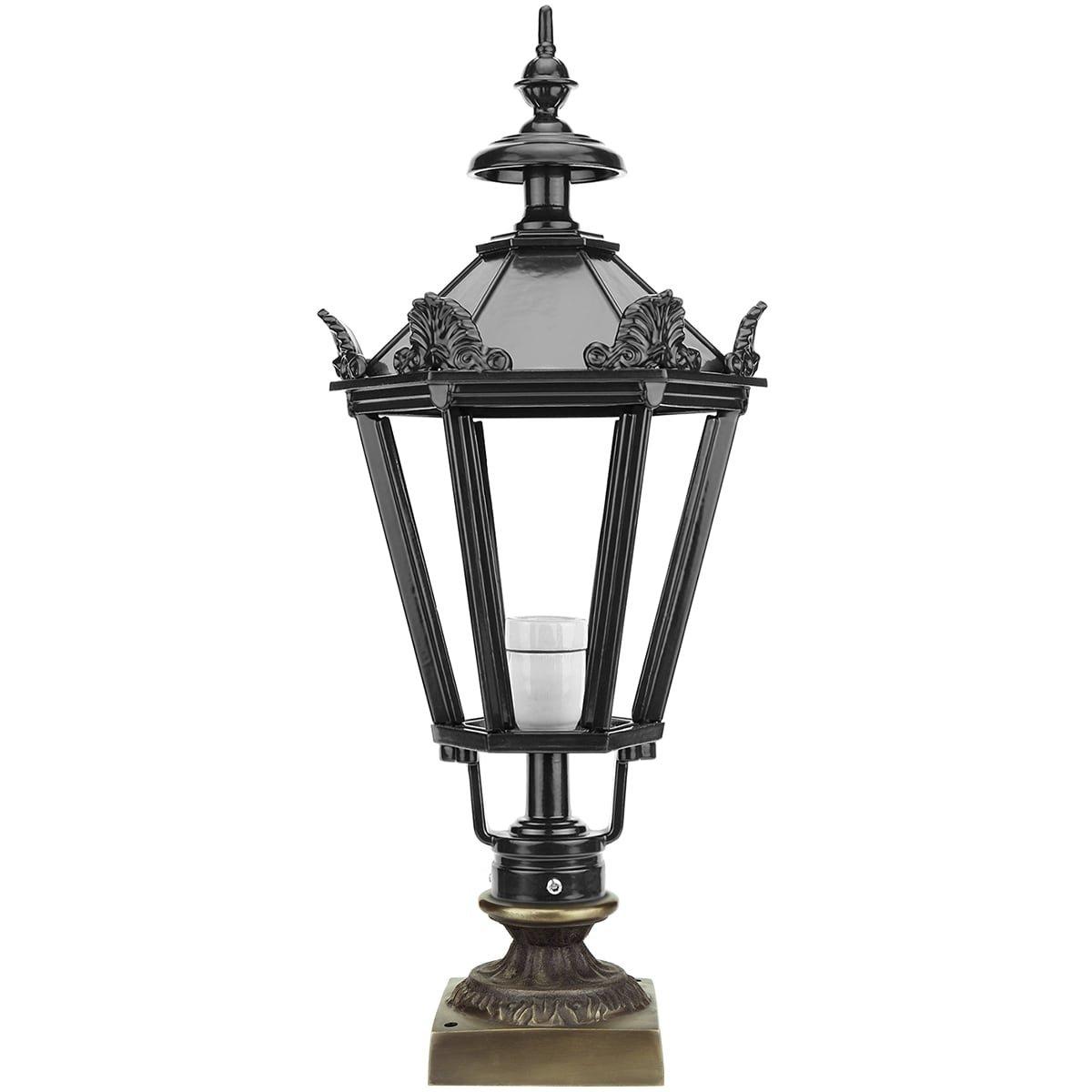 Outdoor Lighting Classic Nostalgic Lantern outdoor lamp Agelo bronze - 73 cm