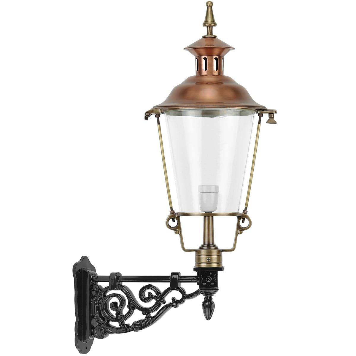 Outdoor Lighting Classic Rural Lantern wall Aartswoud bronze - 95 cm