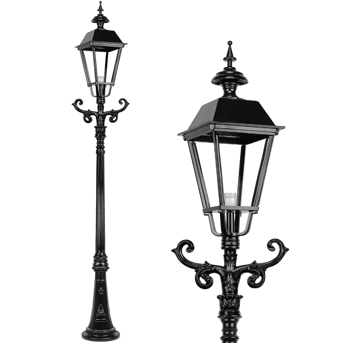 Outdoor Lighting Classic Rural Lantern lamp big Roodkerk - 275 cm