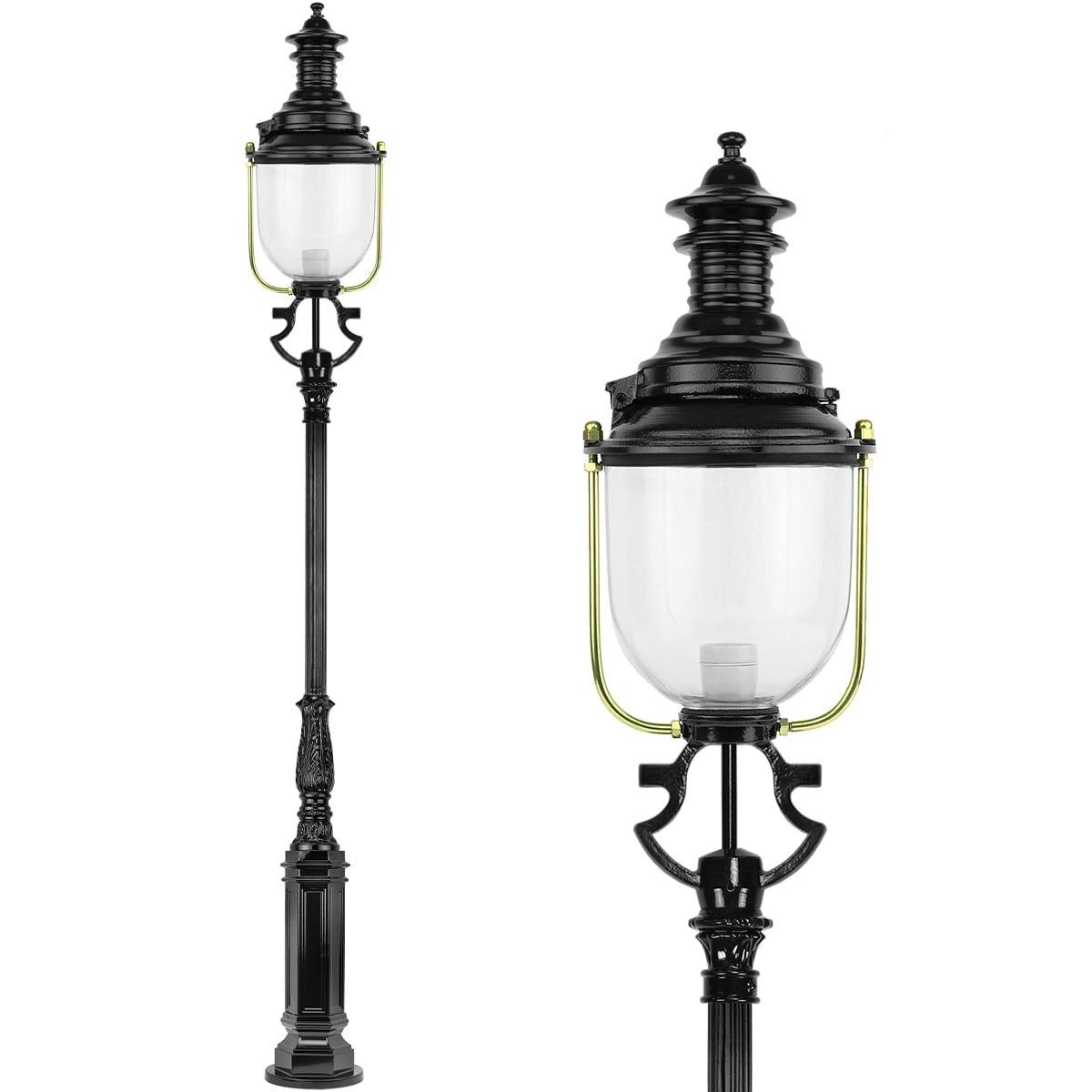Outdoor Lighting Classic Rural Lantern post Old English Durgerdam - 295 cm