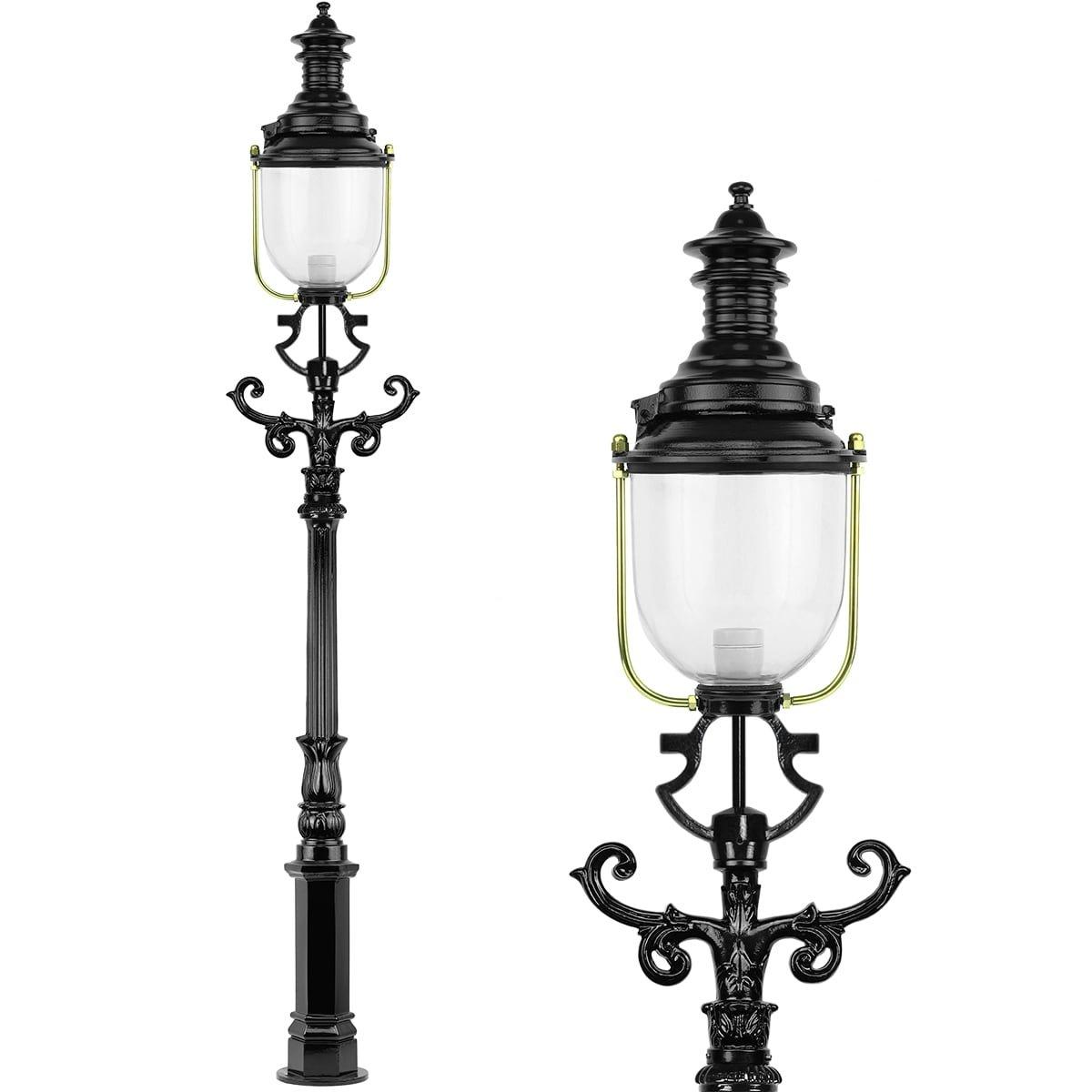 Outdoor Lighting Classic Rural Lantern pole Old English Moerdijk - 240 cm