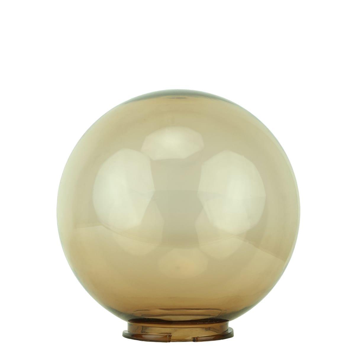 Buitenverlichting Onderdelen Losse bol kunststof rookglas - Ø 20 cm