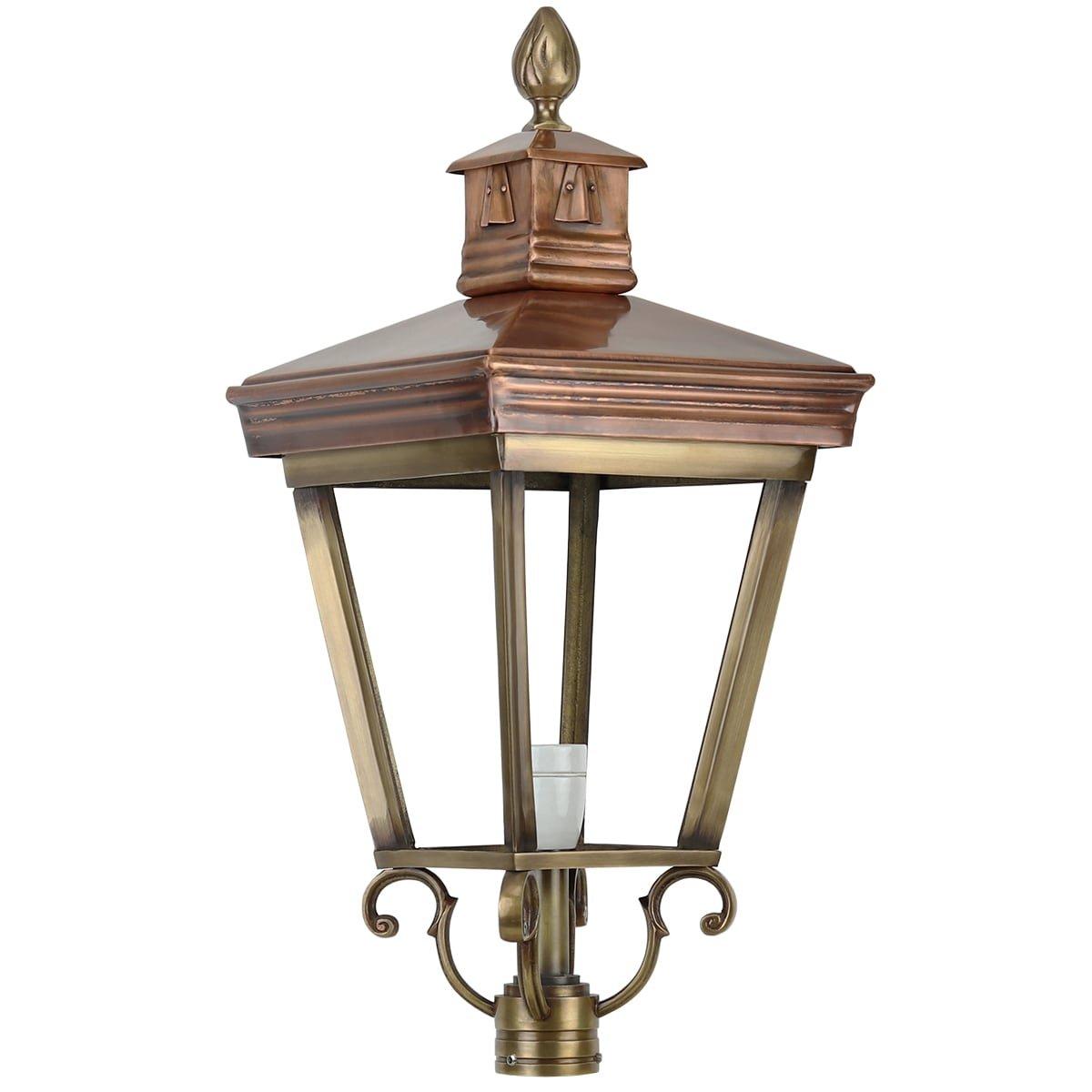 Außenbeleuchtung Klassisch Ländlich Einzelne leuchtenschirm bronze K22 - 80 cm