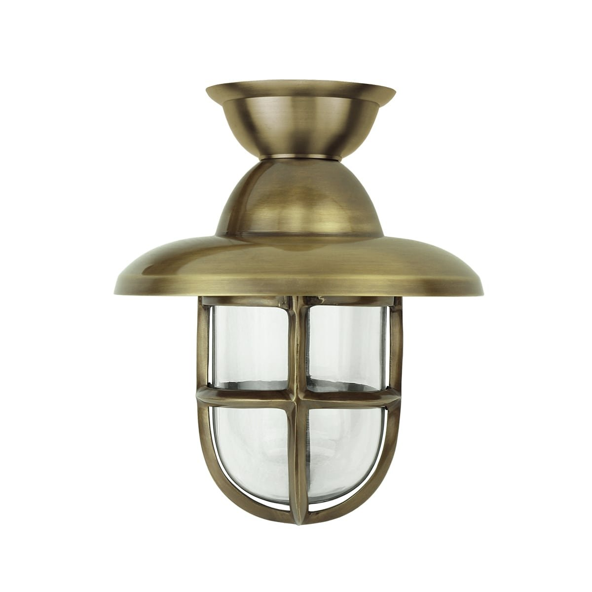 Outdoor lighting Maritime nautical Ship lamp Marine brass - 28 cm