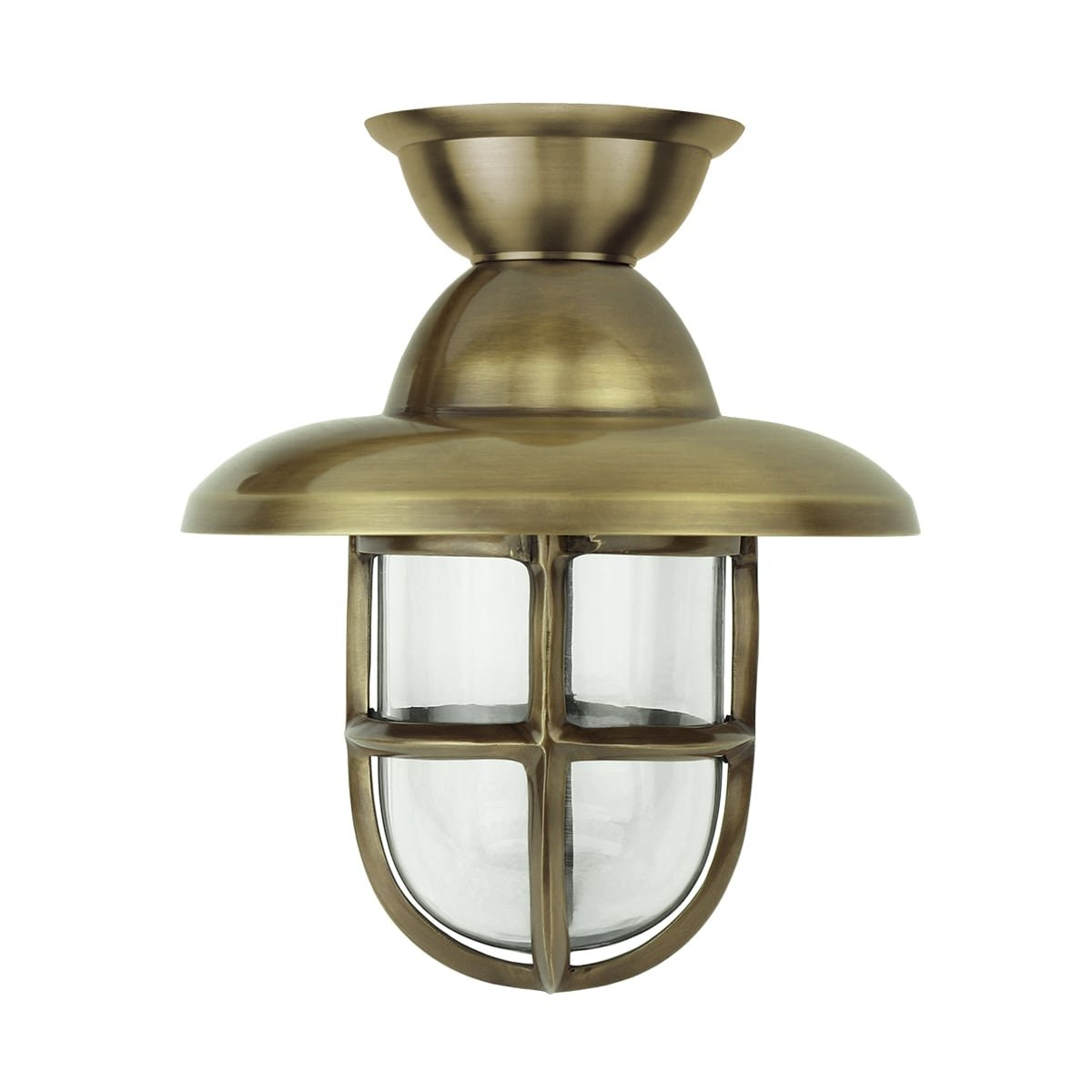Outdoor lighting Maritime nautical Ship lamp Marine brass - 32 cm