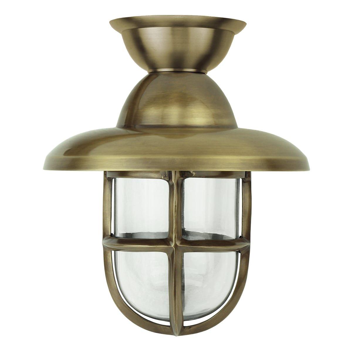 Outdoor lighting Maritime nautical Ship light Marine brass - 42 cm