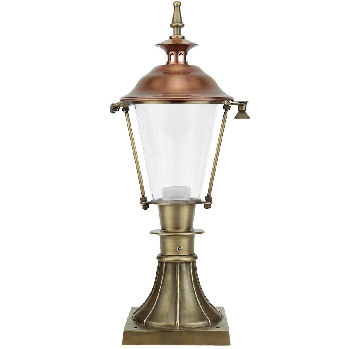 Buitenverlichting Klassiek Landelijk Tuinspot buiten Aalten brons - 56 cm