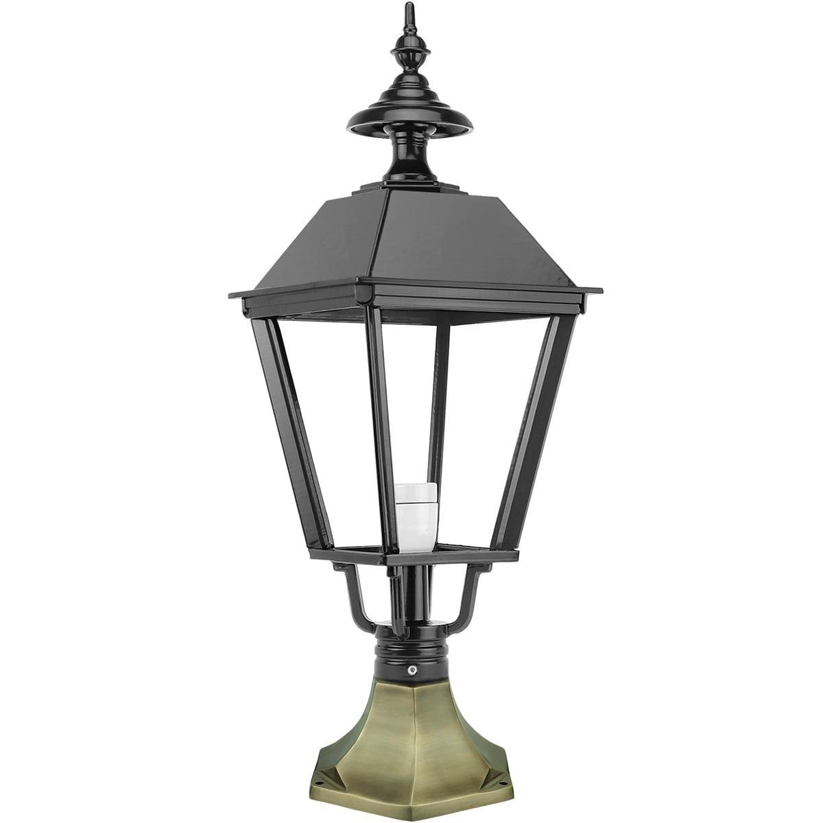 Buitenverlichting Klassiek Nostalgisch Vloerlantaarn Dortherhoek brons - 64 cm
