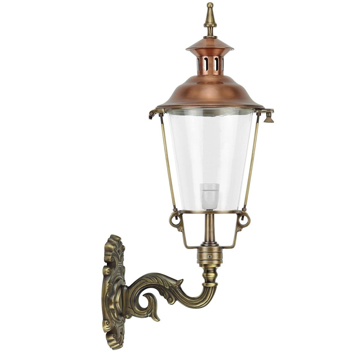Außenbeleuchtung Klassisch Ländlich Haustür laterne Mariënvelde bronze - 90 cm