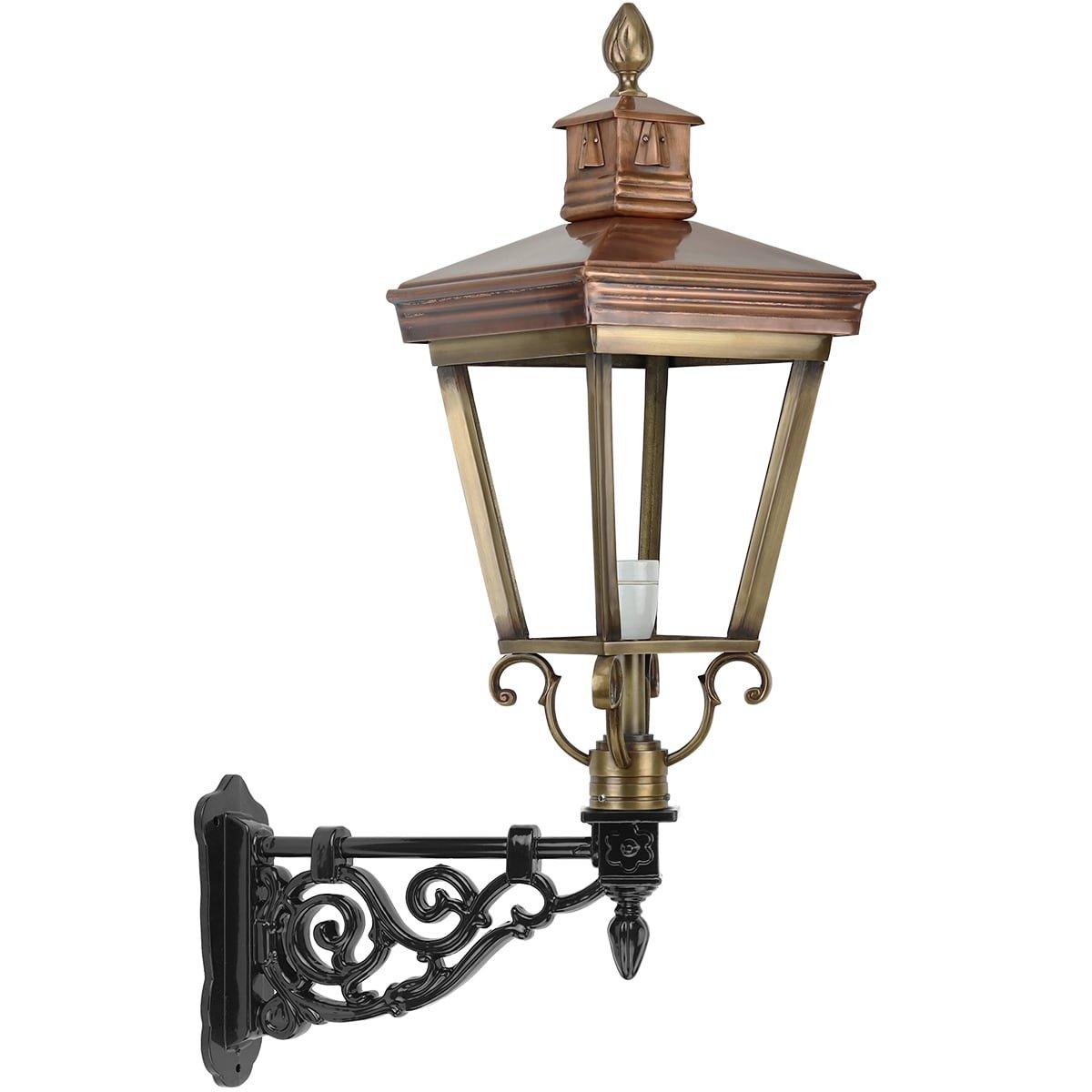 Outdoor Lighting Classic Rural Wall lamp front door Henxel bronze - 85 cm