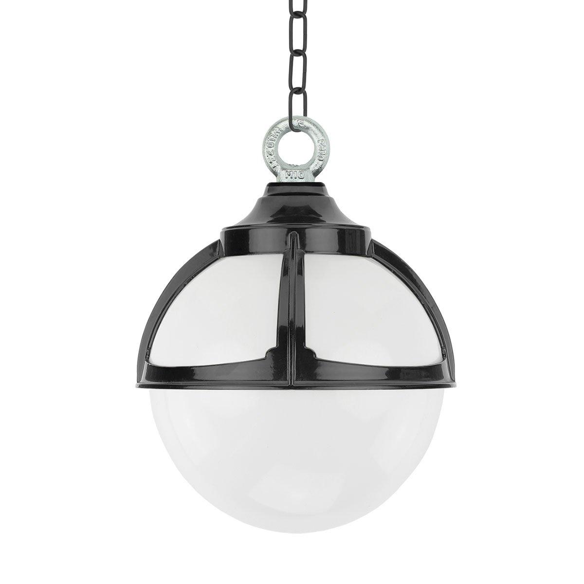 Außenbeleuchtung Klassisch Ländlich Kugel hängelampe Achlum kette - Ø 25 cm