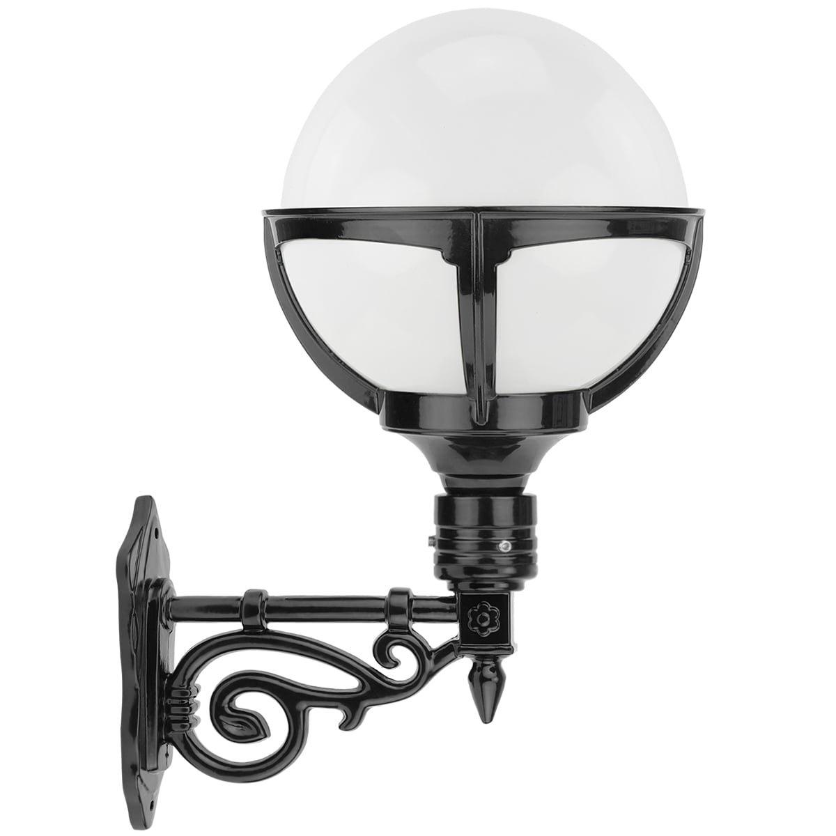 Außenleuchten Klassisch Ländlich Kugellampe opal außenwand Nijehaske - 50 cm