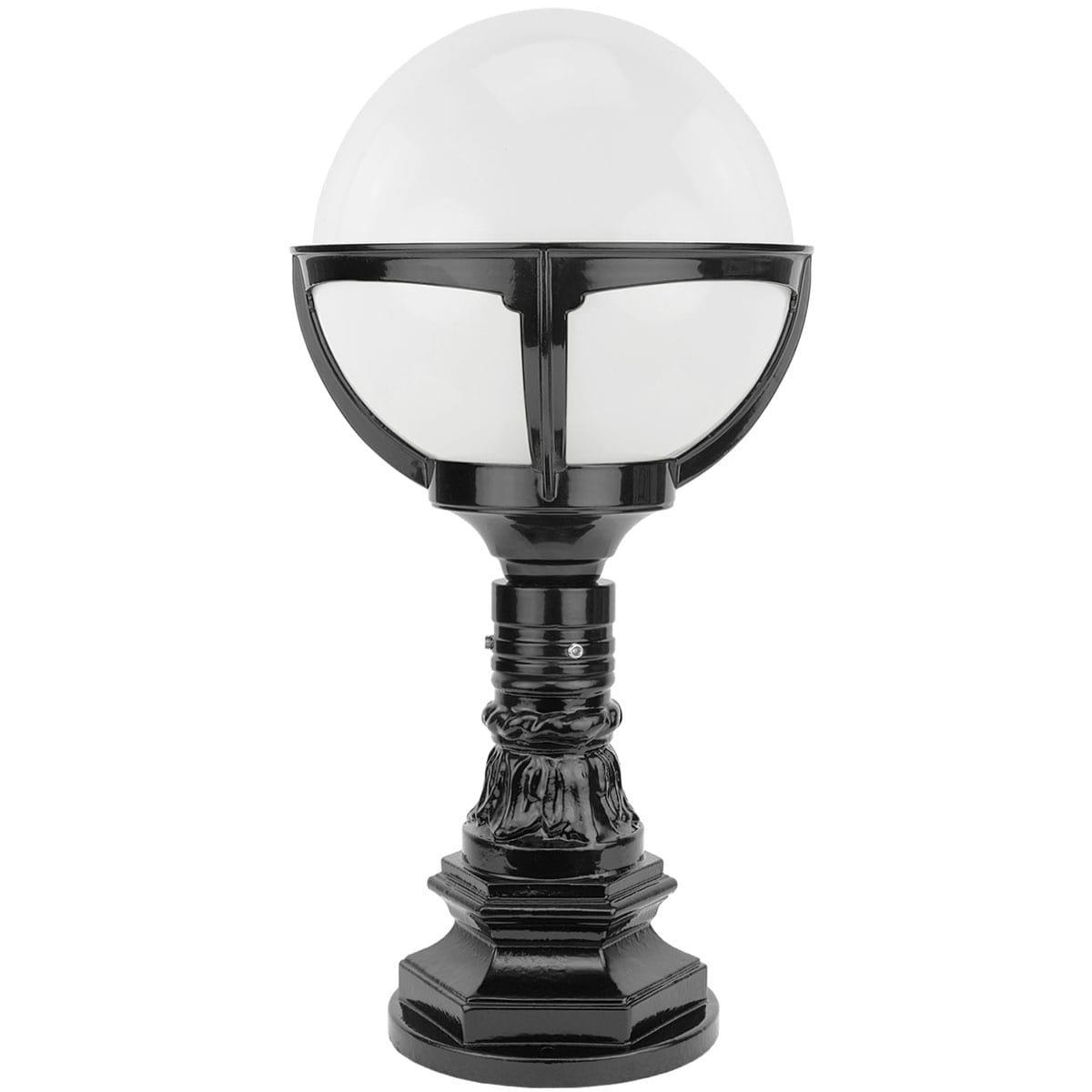 Außenbeleuchtung Klassisch Ländlich Kugellampe Schagen Opal ball - 56 cm