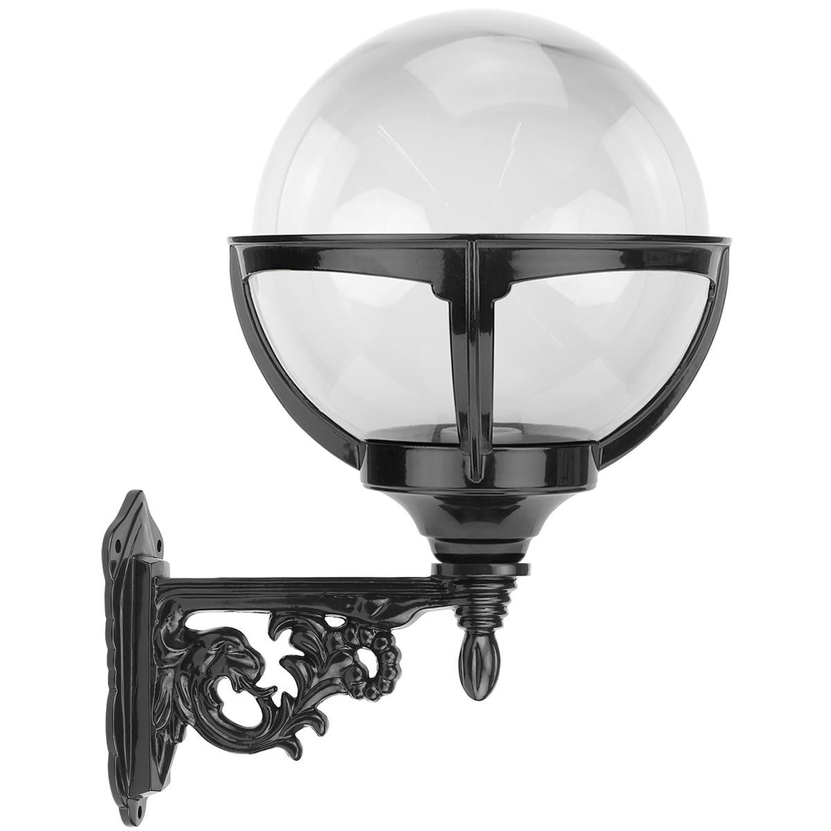 Outdoor Lamps Country Style Retro Sphere lamp clear globe Hoogwoud - 45 cm