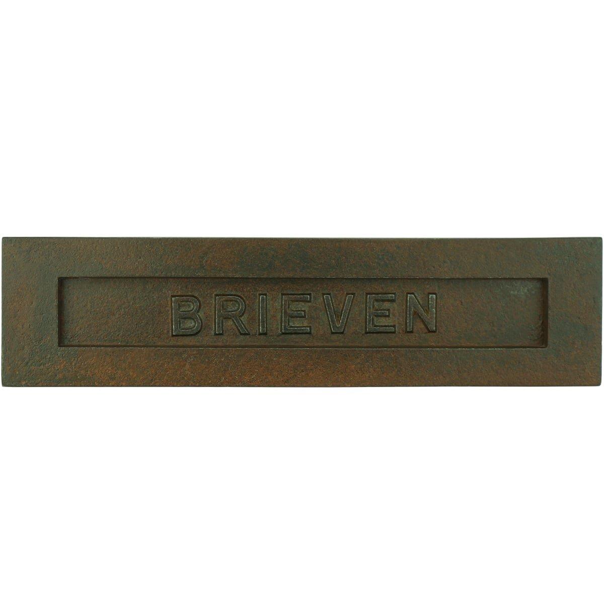 Mailboxes Classic Rural Mailbox plate Brieven rust Desborough - 90 mm