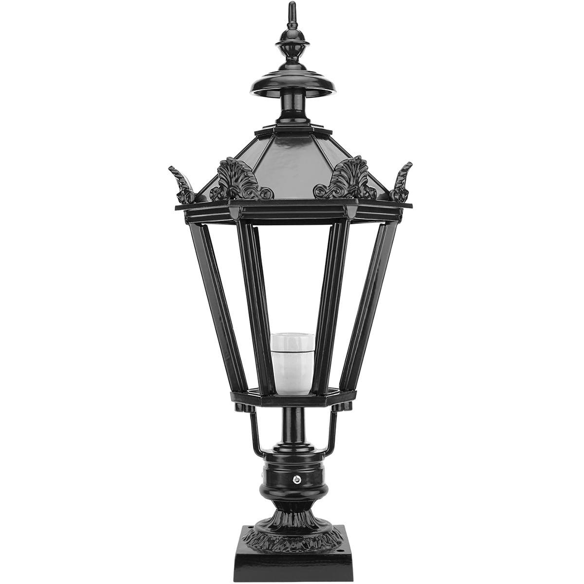 Buitenverlichting Klassiek Landelijk Buitenlamp Nijkerk met kronen - 73 cm
