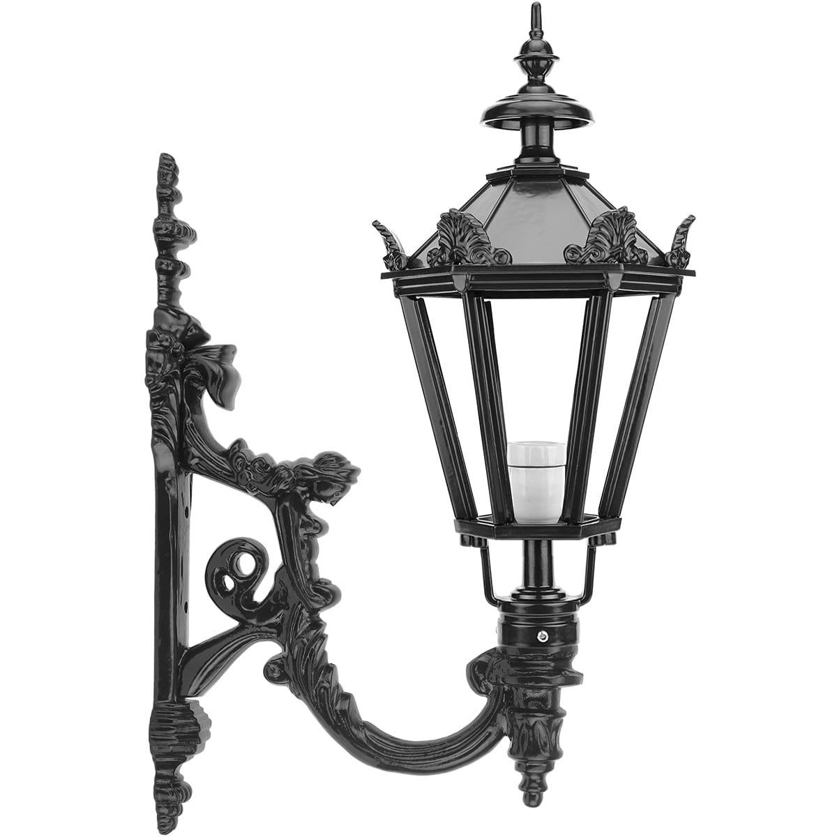 Buitenverlichting Klassiek Landelijk Buitenlamp Schiedam met kronen - 78 cm