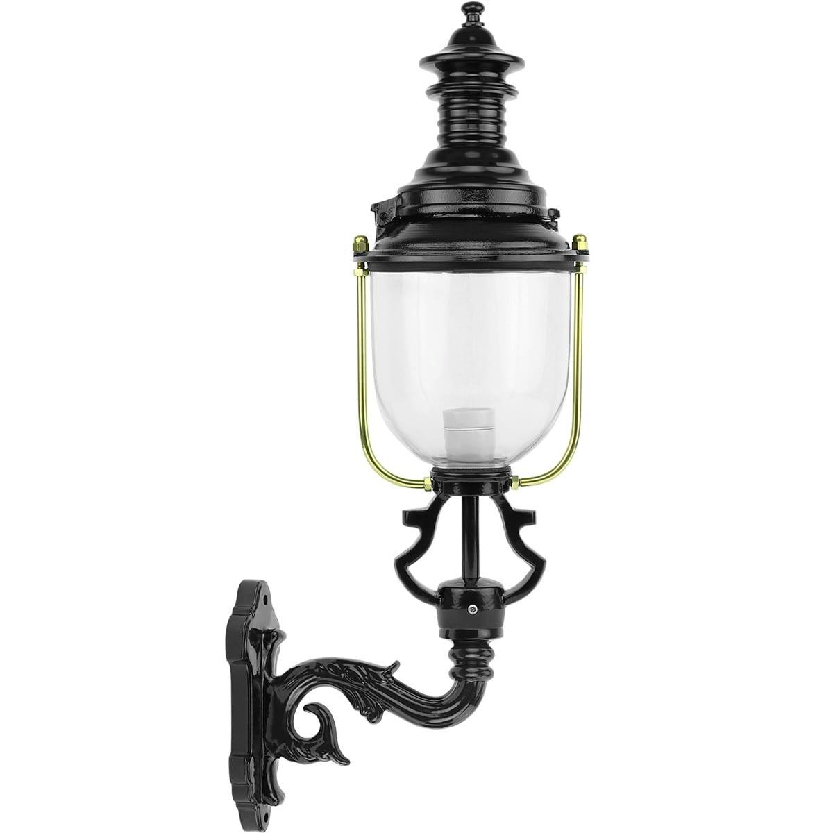 Buitenverlichting Klassiek Landelijk Buitenwandlamp staande Dirkshorn - 73 cm