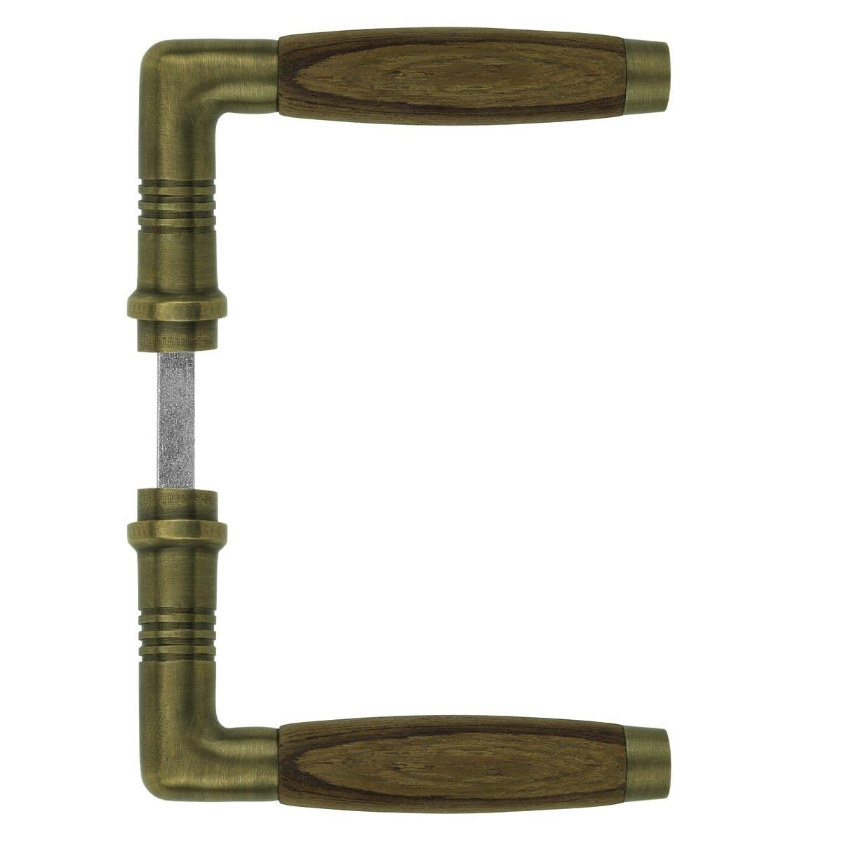 Türbeschläge Türhebels Türgriff bronze holzen griff Ahlen - 110 mm