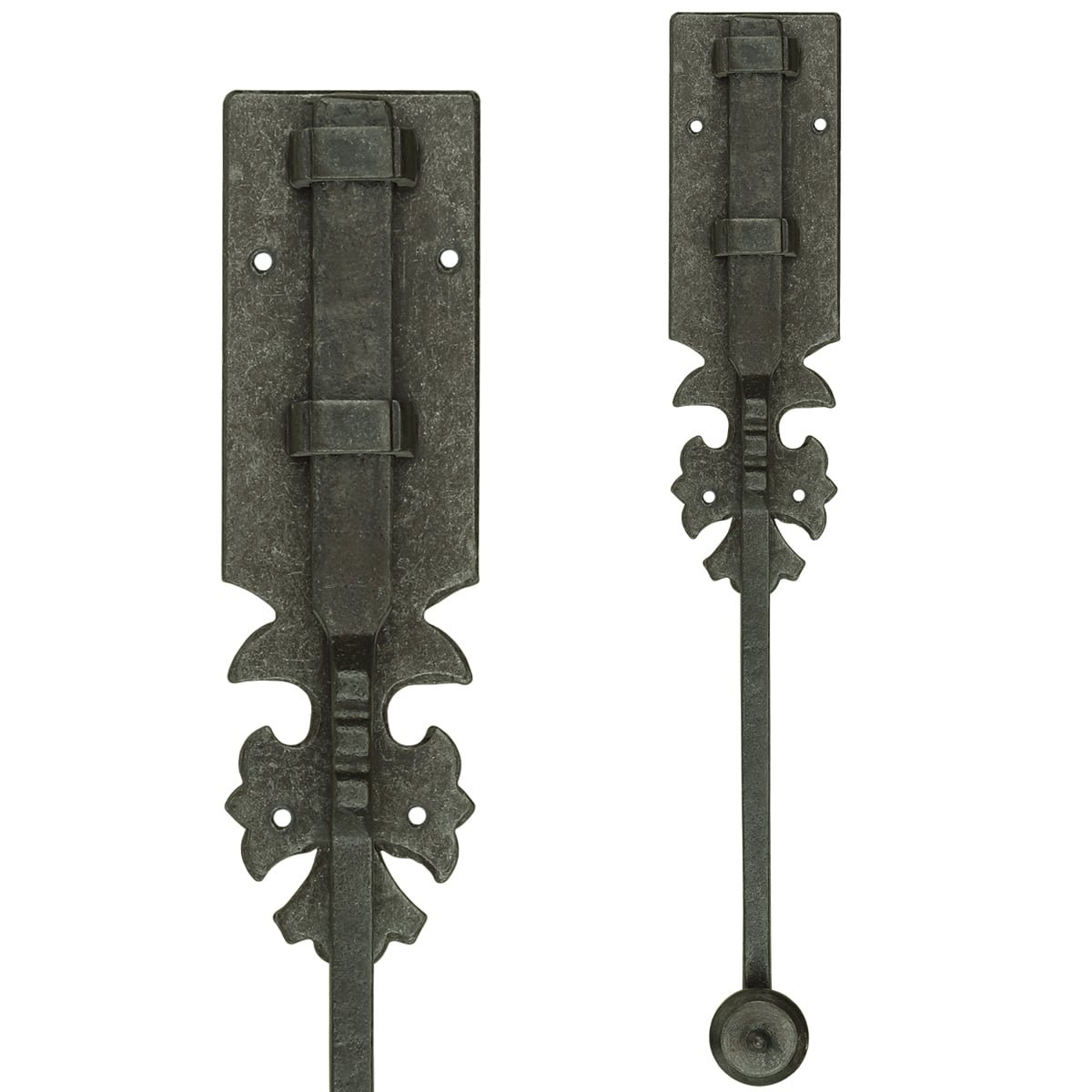 Türbeschläge Türschlösser Türriegel aufbau mit schlossplatte - 400 mm