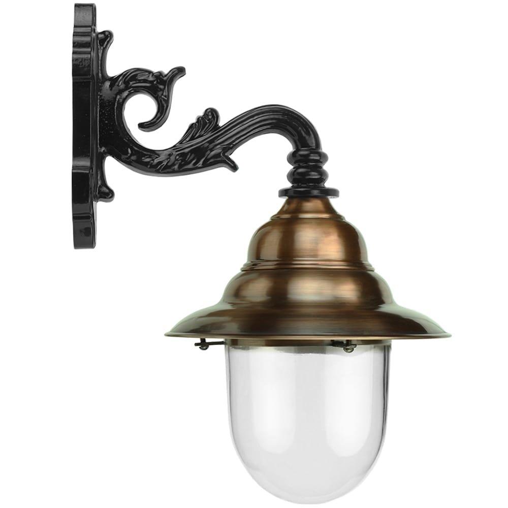 Außenbeleuchtung Klassisch Ländlich Französische stalllaterne Ameide kupfer - 53 cm