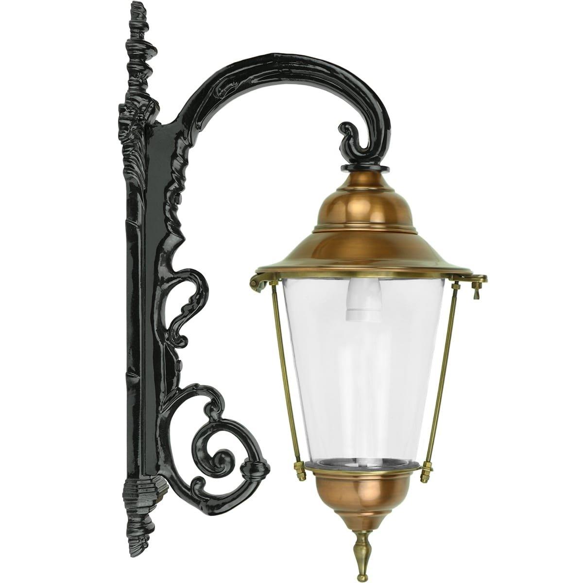 Außenbeleuchtung Klassisch Ländlich Fassadenlaterne antikes Barsingerhorn - 79 cm