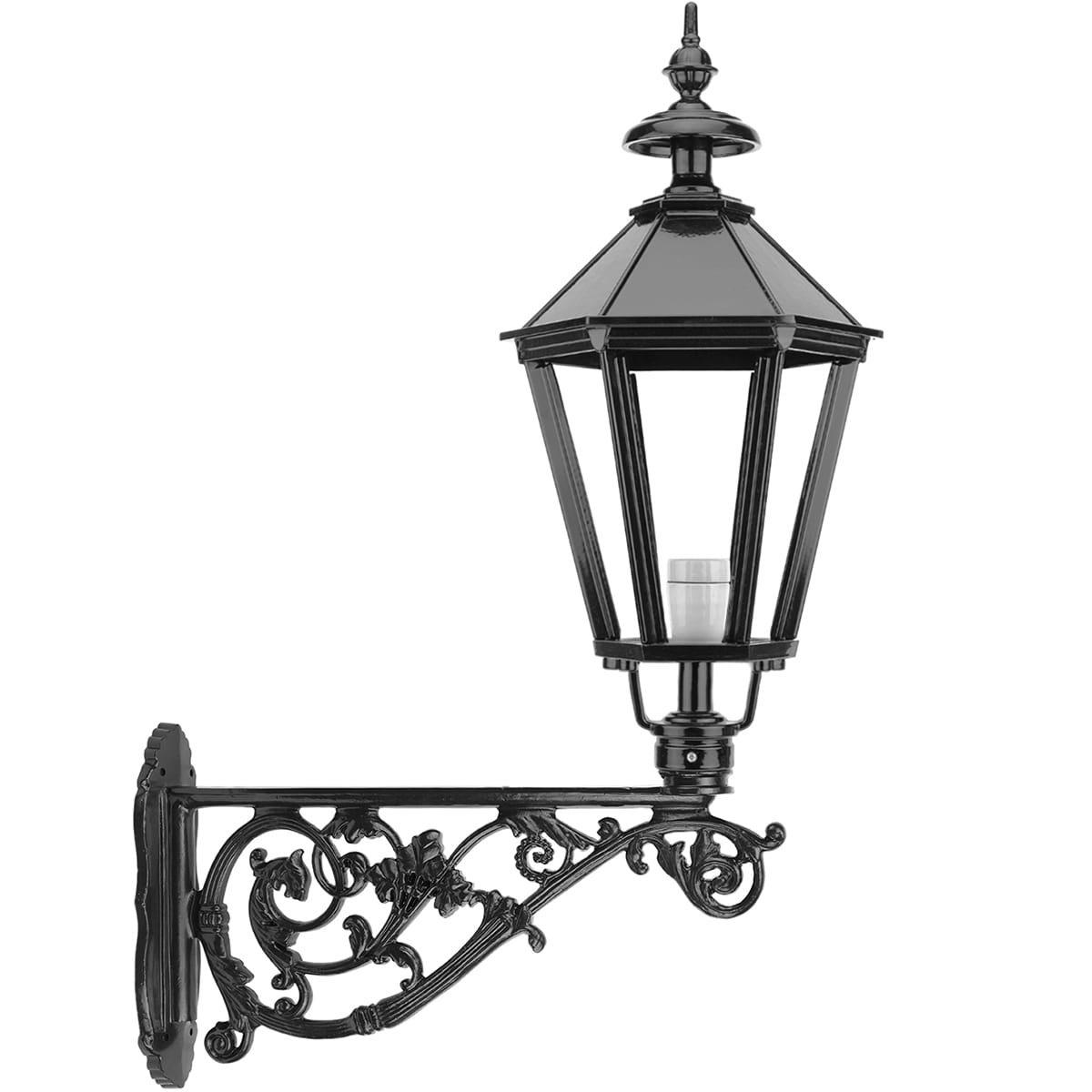 Außenbeleuchtung Klassisch Ländlich Fassadenlaterne groß Bruchterveld - 140 cm