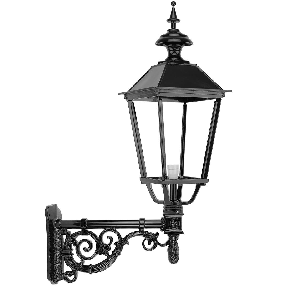 Buitenverlichting Klassiek Landelijk Gevellantaarn oude stijl Pijnacker - 103 cm