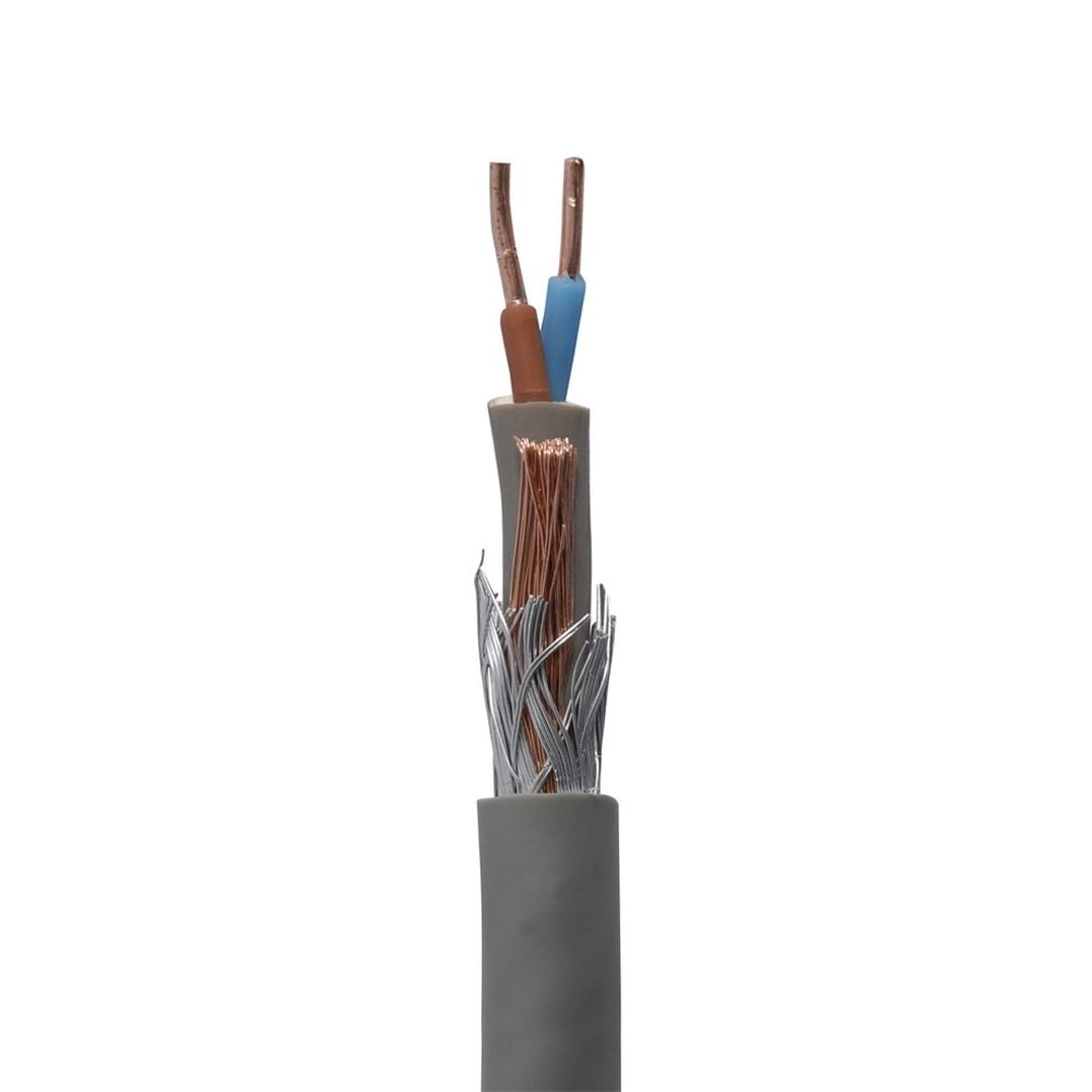 Außenbeleuchtung Verbindungsmaterial Bodenkabel 2 x 2.5 mm2 erdungsdraht - 15 m