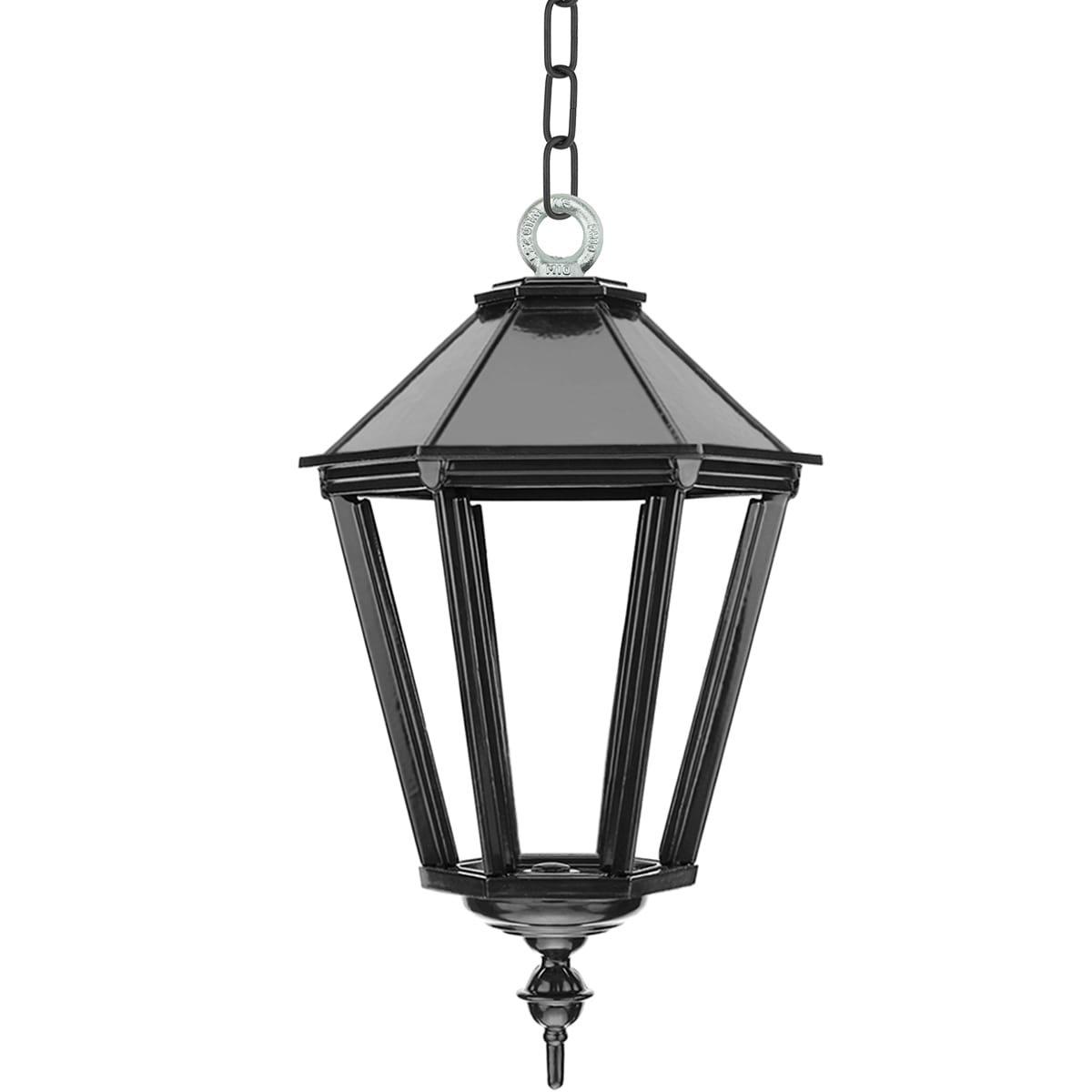 Outdoor lighting Classic Rural Chain lamp Leusden on chain M - 50 cm