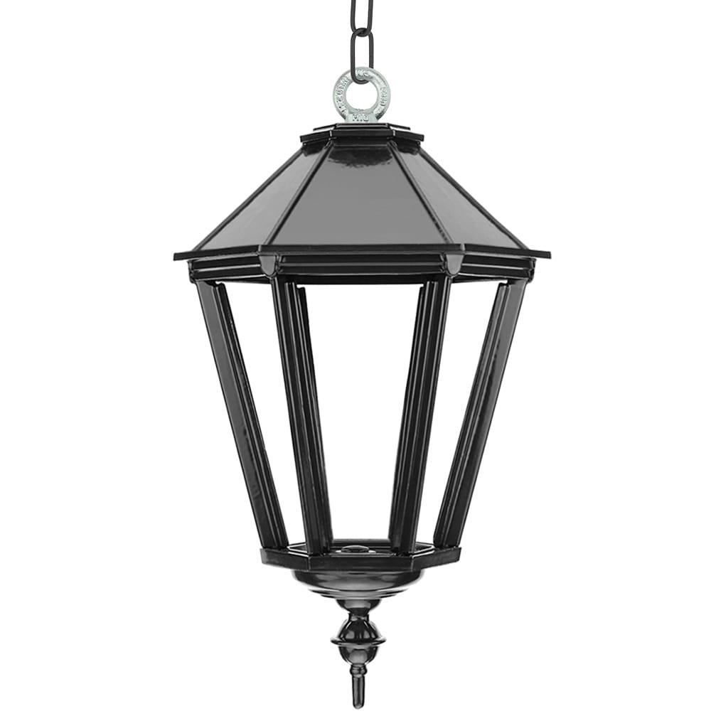 Außenbeleuchtung Klassisch Ländlich Kettenleuchte Leusden auf kette XL - 70 cm