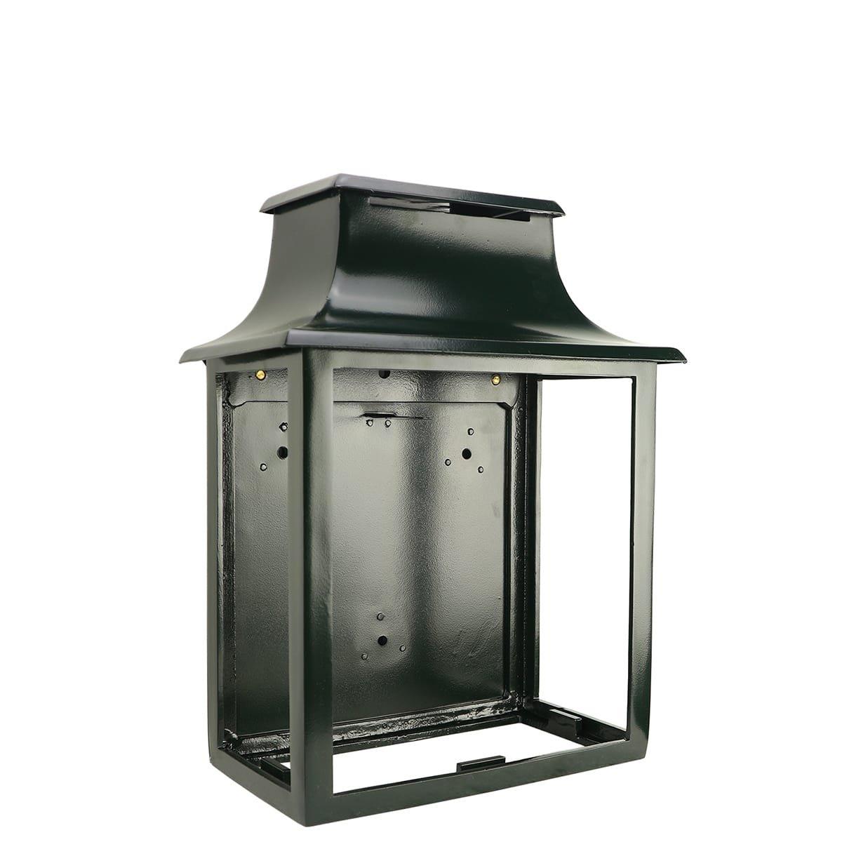 Außenbeleuchtung Klassisch Ländlich Kutschenlampe wand Amstelveen S - 35 cm