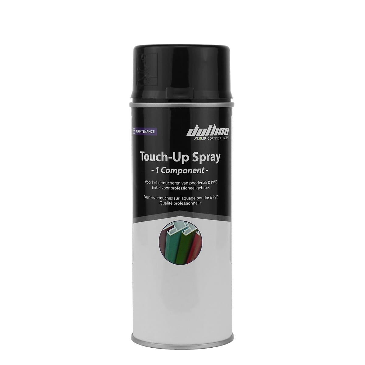 Outdoor lighting Components Paint spray can Black - 400 ml