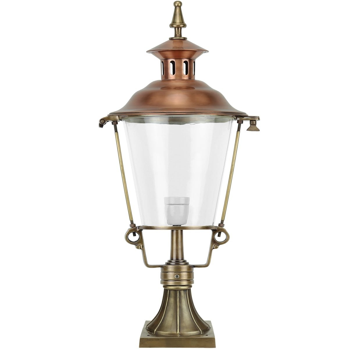 Außenbeleuchtung Klassisch Ländlich Laternenlampe draußen Slootdorp - 98 cm