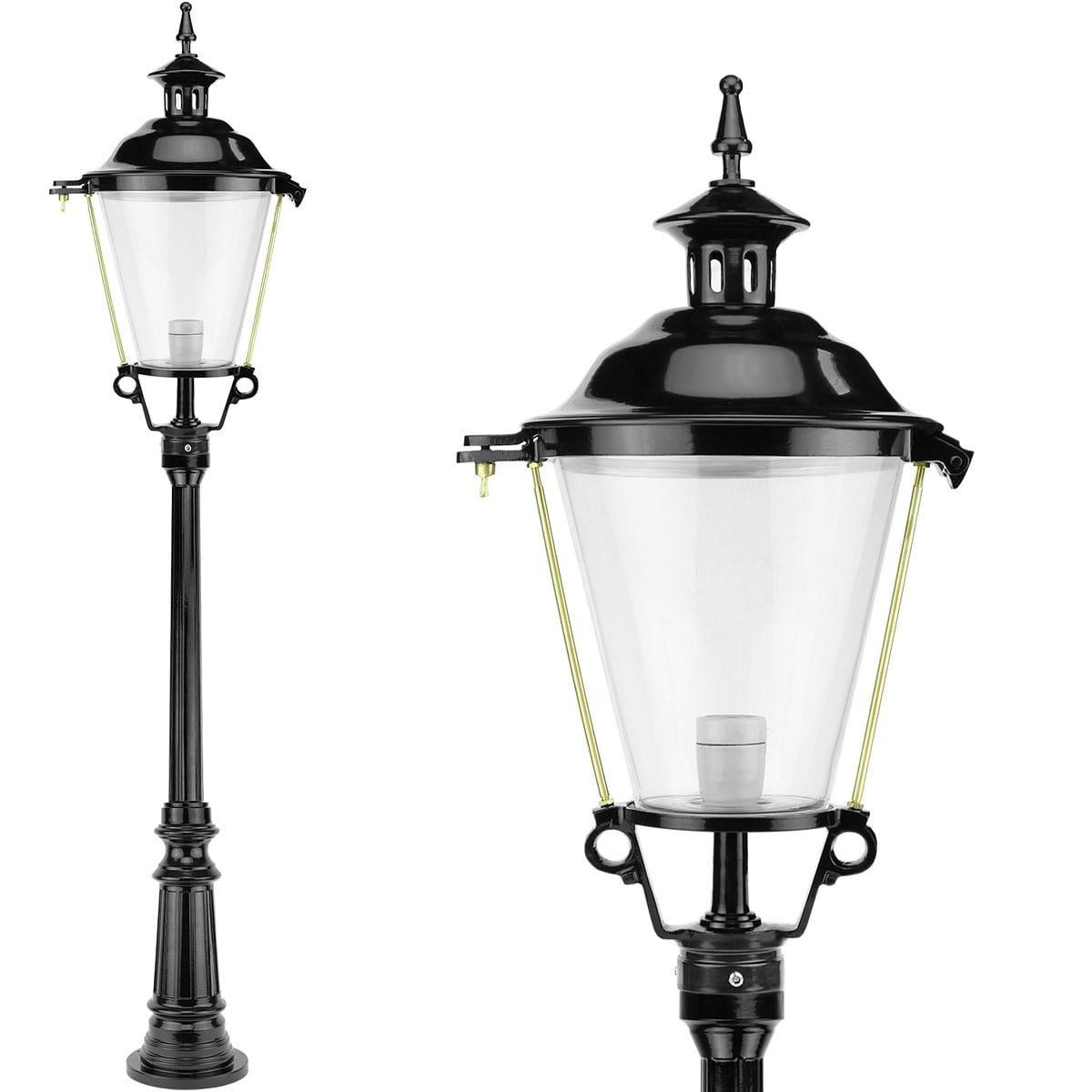 Außenleuchten Klassisch Ländlich Laterne lampe hoch Bruggerhuizen - 162 cm