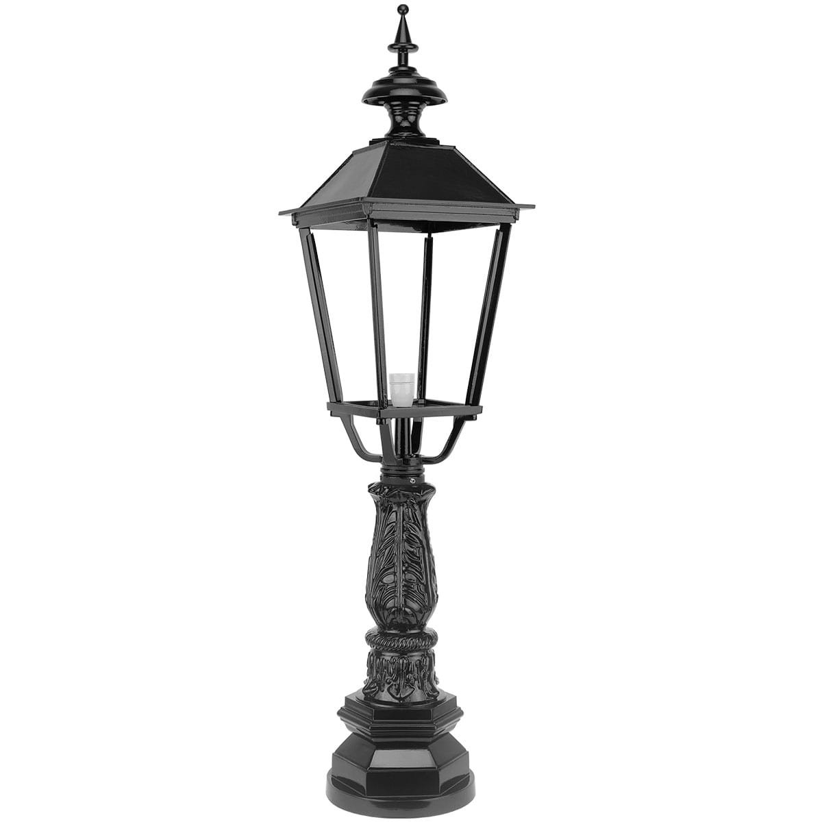 Outdoor Lighting | Classic Rural | Lantern lamp square Bovenstehuis - 124 cm Outdoor Lighting Classic Rural Lantern lamp square Bovenstehuis - 124 cm
