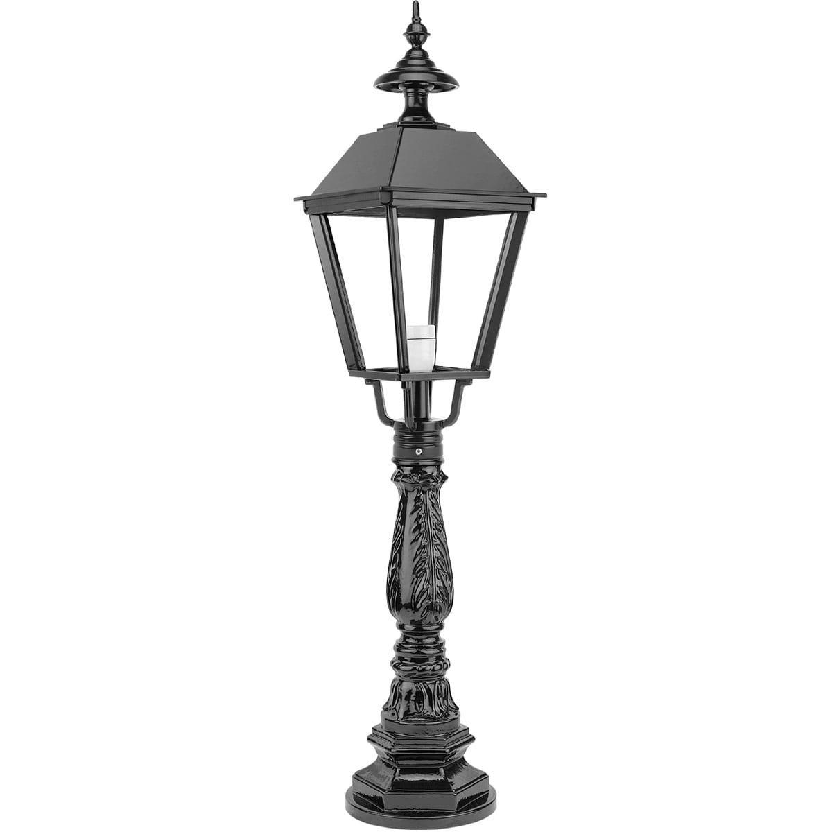 Buitenverlichting Klassiek Landelijk Staande Terraslamp Buitenlantaarn