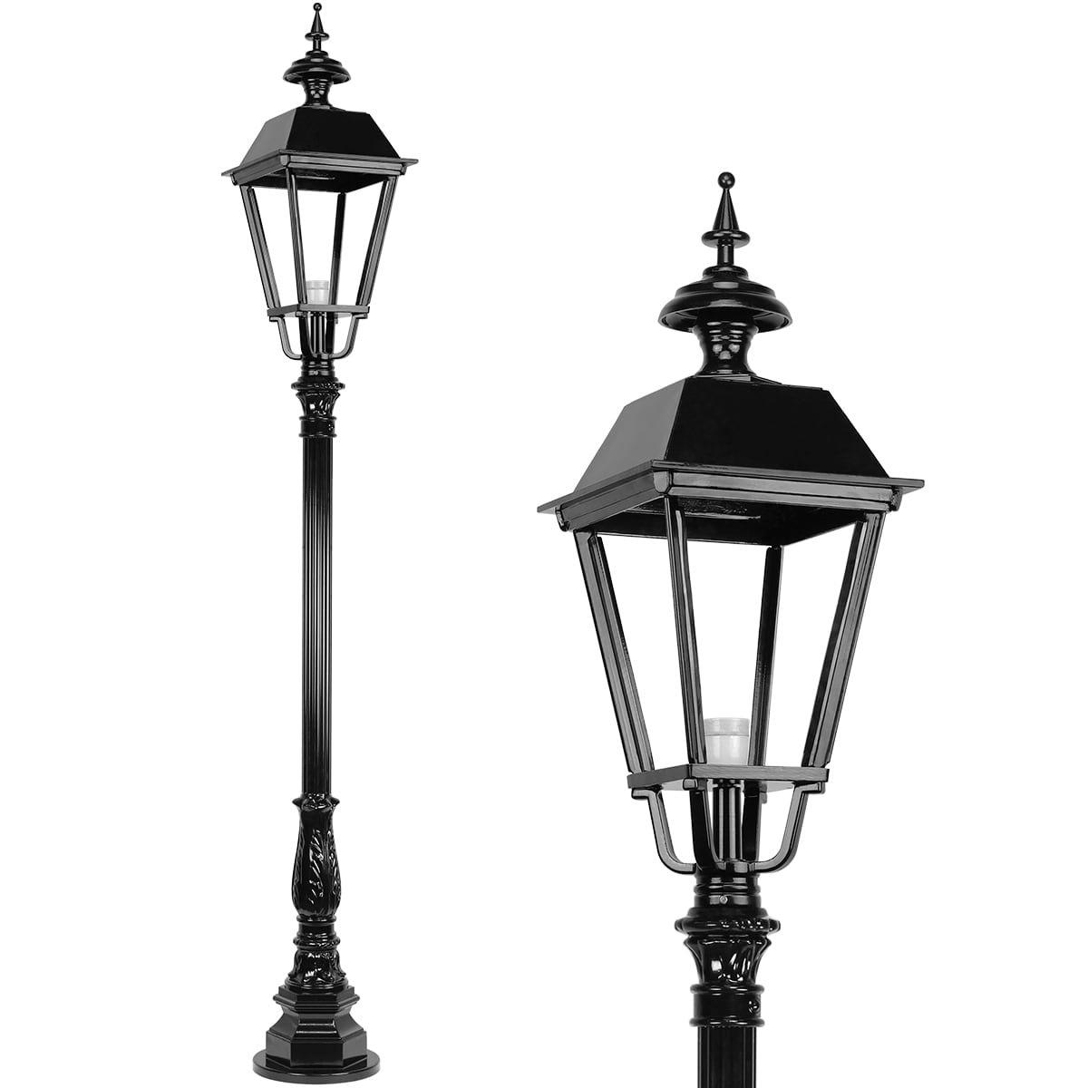 Außenbeleuchtung Klassisch Ländlich Laternenpfahl quadrat Apeldoorn - 215 cm