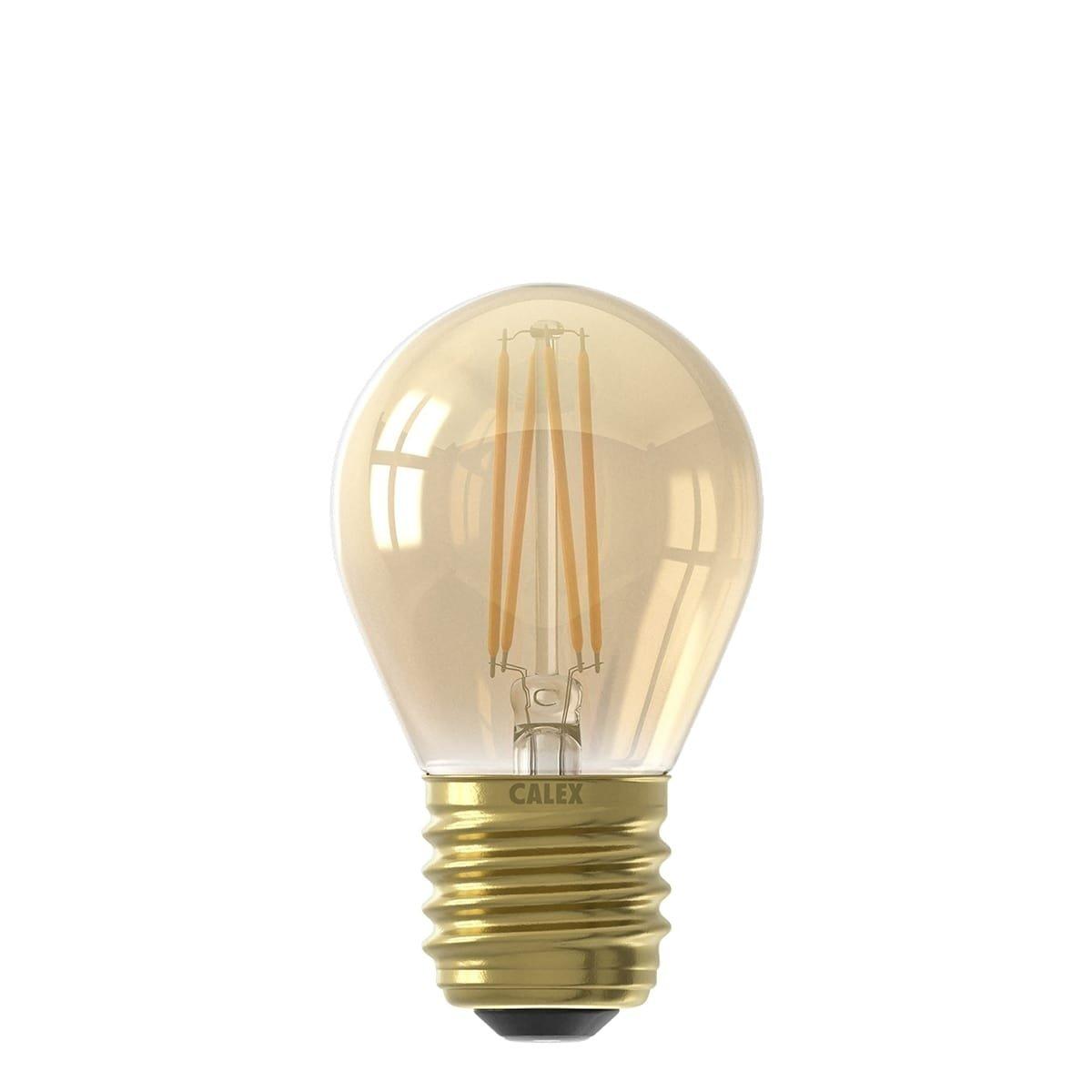 Außenbeleuchtung Lichtquellen Led kugellampe Mini Globe Gold - 3.5W