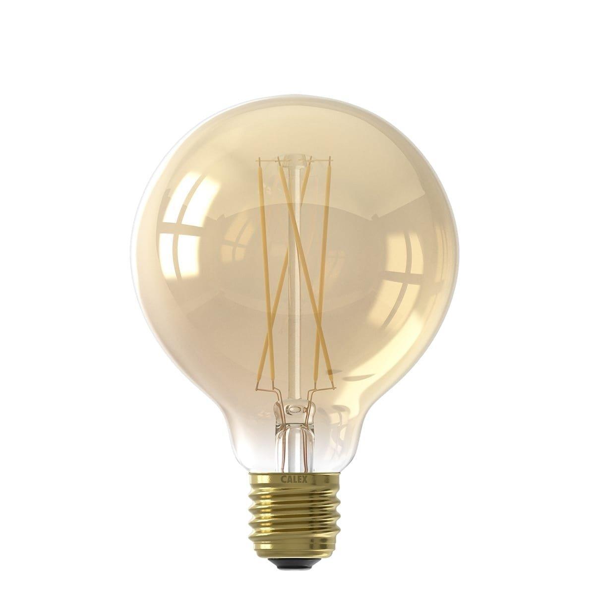 Außenbeleuchtung Lichtquellen Led lichtquelle filament Globe Gold - 4W