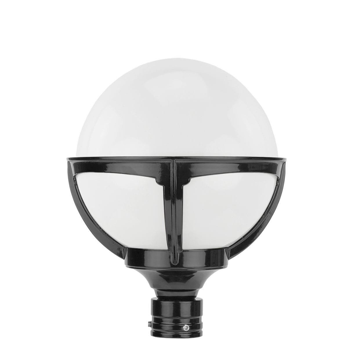 Außenbeleuchtung Klassisch Ländlich Einzelne kugel außenlampe opal - Ø 25 cm