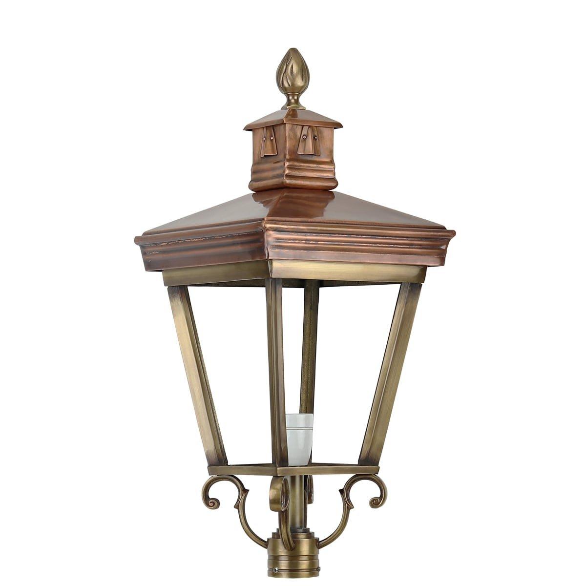 Außenbeleuchtung Klassisch Ländlich Einzelne lampenschirm bronze K23 - 70 cm
